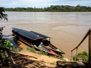 Motorized Canoe 2