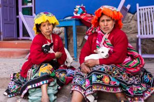 Ladies of Pisac - paid to pose
