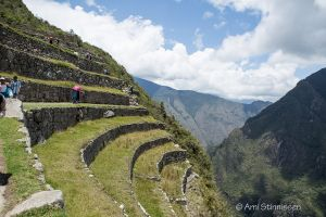 Path from Guard house to City gate via agricultural terraces