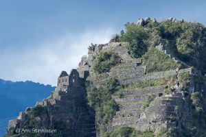 Huayna Picchu - cropped to show architecture