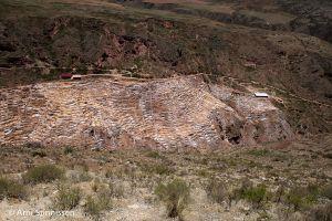 Maras Salt Ponds from above