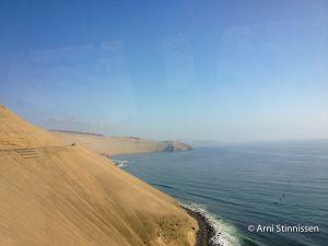 Coastal highway north of Lima