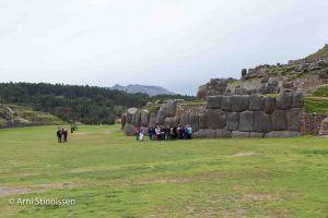 Saksaywaman - view of plaza